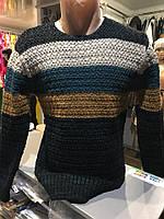 Мужской свитер в плоску осень-зима | 2016