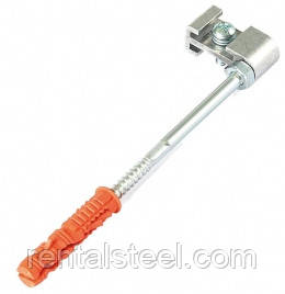 Крюк хомута металлический 120 мм (медный)