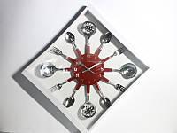 Часы Ложки-Вилки-Половники