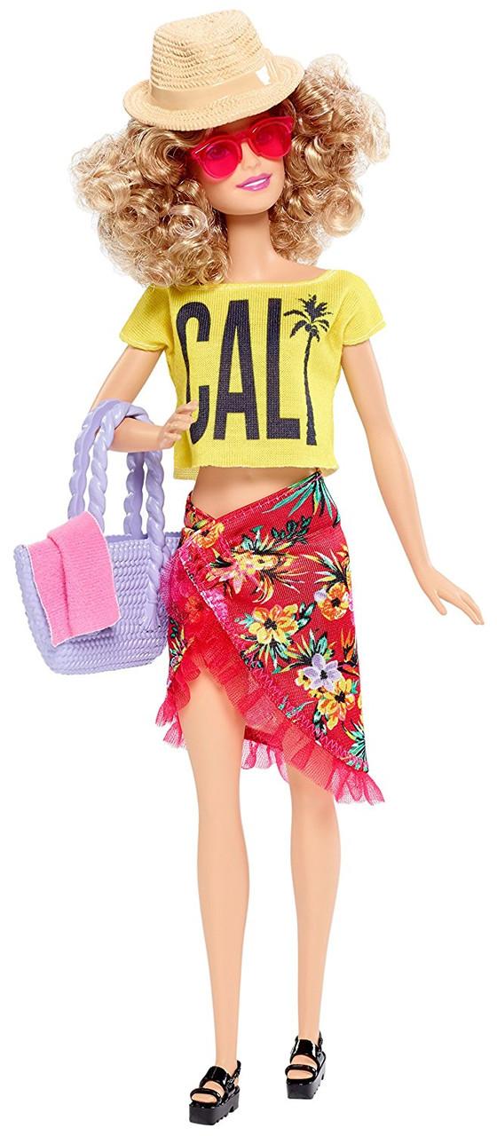 Кукла Барби в розовом купальнике в горошек, серия ...