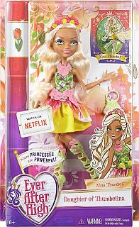 Кукла Ever After High Nina Thumbell Doll базовая  Нина Тамбелл Эвер Афтер Хай