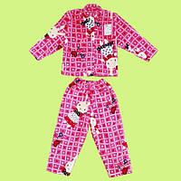 Пижама Для Девочек махра 92-128