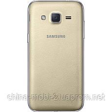 Смартфон Samsung Galaxy J2 Duos J200H Gold, фото 3