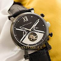 Мужские наручные часы Bvlgari sotirio tourbillon black black (05177), фото 1