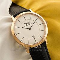 Мужские часы Бельгийской сборки Piaget Altiplano gold white
