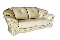 """Элегантный 3х местный кожаный диван """"Loretta"""" (Лоретта). (230 см)"""