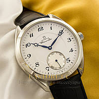Наручные мужские часы Бельгийской сборки Omega Aqua Terra silver white