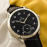 Мужские наручные часы Omega aqua terra silver black (05194), фото 1