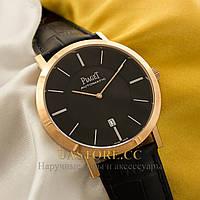 Мужские часы Швейцарские Piaget Altiplano gold black