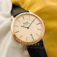 Мужские часы элегантные Piaget Altiplano gold gold