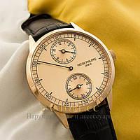 Механические мужские часы Швейцарские Patek Philippe Seven Days gold gold