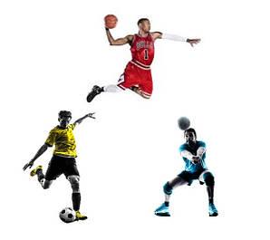 Футбол, волейбол, баскетбол