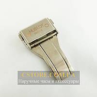 Для часов застежка Hublot silver 22мм (05221)