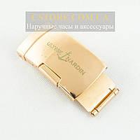 Для часов застежка Ulysse Nardin gold 20мм (05222), фото 1