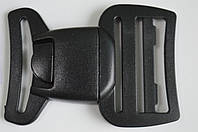 Карабин фастекс с кнопкой 4 см 2 вида