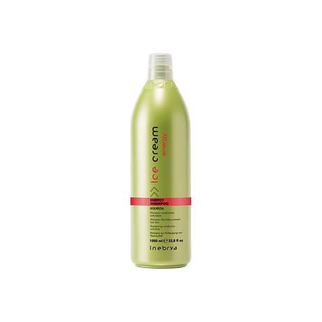 Inebrya Energy Тонизирующий шампунь против выпадения волос 1000 мл.