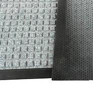 Грязезещитный  коврик Ватер-Холд (Water-hold), 60*90 серый.  1022503