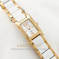 Итальянские женские часы на кожаном ремешке Alberto Kavalli gold white 2403-07042 (002403-07042)