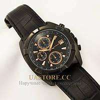 Мужские кварцевые часы с кожаным ремешком Alberto Kavalli black black 2519-S3518 (002519-S3518)