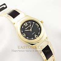 Часы женские кварцевые Alberto Kavalli gold black 2463-01064 (002463-01064)