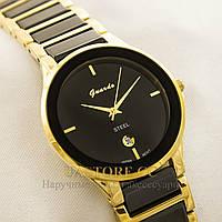 Женские часы с японским механизмом Guardo gold black 1092G-S0395 (001092G-S0395)