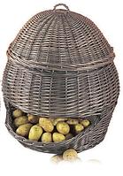 Светлая корзина ручной работы  для хранения овощей и фруктов купить в Харькове недорого