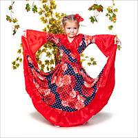 Детский новогодний костюм. Новогодний костюм цыганочка. Карнавальный костюм. Новогодний костюм для девочки.
