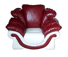 """Комплект элегантной кожаной мебели """"Pejton"""" (Пэйтон). (3р+1), фото 3"""
