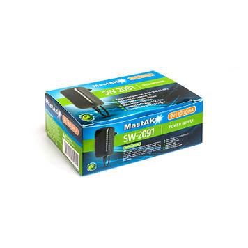 Сетевой блок питания MastAK SW-2091 (9V 1000mA)