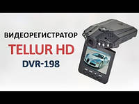 Видеорегистратор автомобильный HD DVR-198, hd видеорегистратор