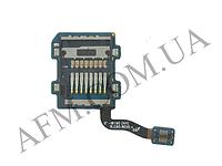 Конектор карты памяти Samsung i8190 Galaxy S3 mini с шлейфом