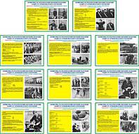 """""""Нормативы гражданской защиты"""" (11 плакатов ф. А3)"""