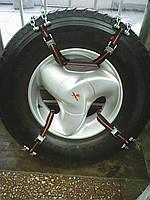 Цепи противоскольжения(браслеты) на легковые легкогрузовые
