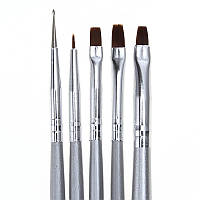 [ Кисти Nail Art ] Набор кисточек для росписи ногтей