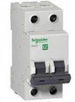 Автоматический выключатель 2 пол_SCHNEIDER_EZ9 2P 25A C