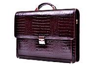 Портфель мужской деловой Desisan   216   14 кожа