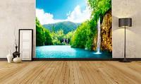 "Фотообои ""Водопад. пейзаж"""
