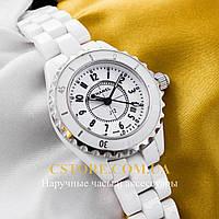 Кварцевые женские наручные часы Бельгийские Chanel white white