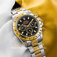 Мужские наручные часы Швейцарские Rolex Cosmograph Daytona gold black