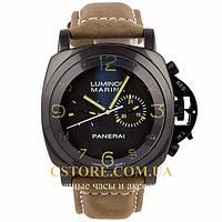 Мужские наручные часы Швейцарские Panerai Luminor Marina black black