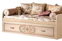 Кровать Василиса 80 двухместная 880х1970х870мм   Мастер Форм