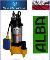 Дренажно-фекальный насос ALBA V250F с поплавком