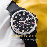 Часы Corum Admirals Cup silver black (05751)