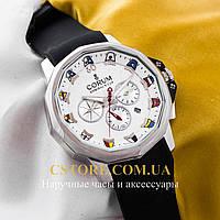 Часы Corum Admirals Cup silver white  (05752)