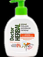 """Гель интимной  гигиены """"Ромашка и облепиха"""" 300 Doctor Herbal"""