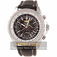 Мужские наручные часы Breitling for bentley silver black (05818), фото 1