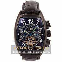 Наручные мужские часы элегантные Franck Muller Casablanca black black