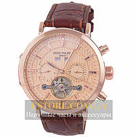 Механические мужские часы Швейцарские Patek Philippe Geneve gold gold