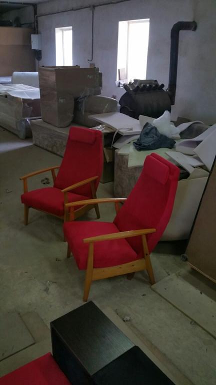 Реставрація крісел. 2