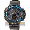 Мужские наручные часы Casio g-shock gwa-1100 blue black (05852)